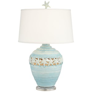 Starfish Kiss Table Lamp