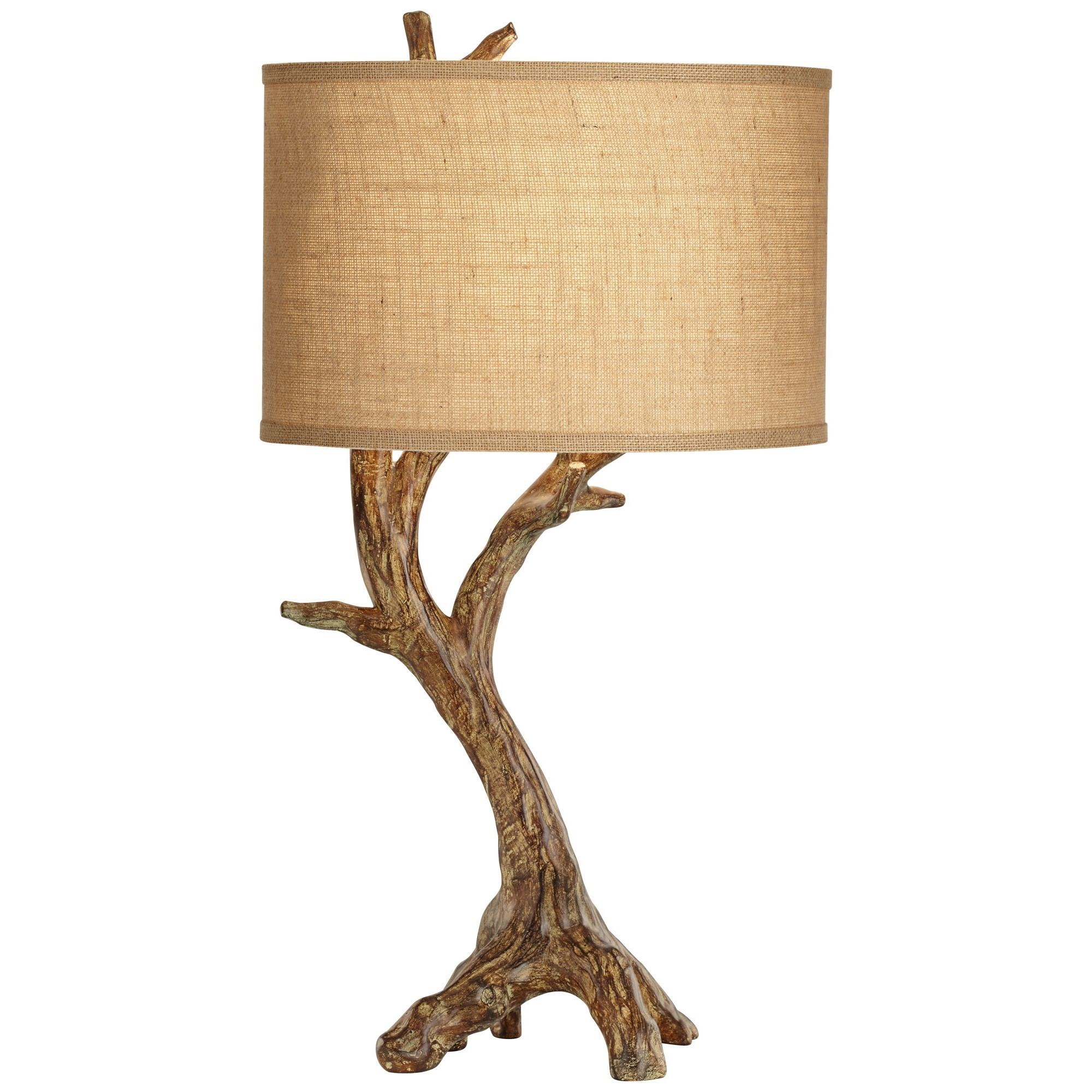 Table Lamps Beachwood Table Lamp  at Bennett's Furniture and Mattresses