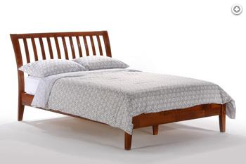 Nutmeg Queen Bed by Pacific Manufacturing at SlumberWorld
