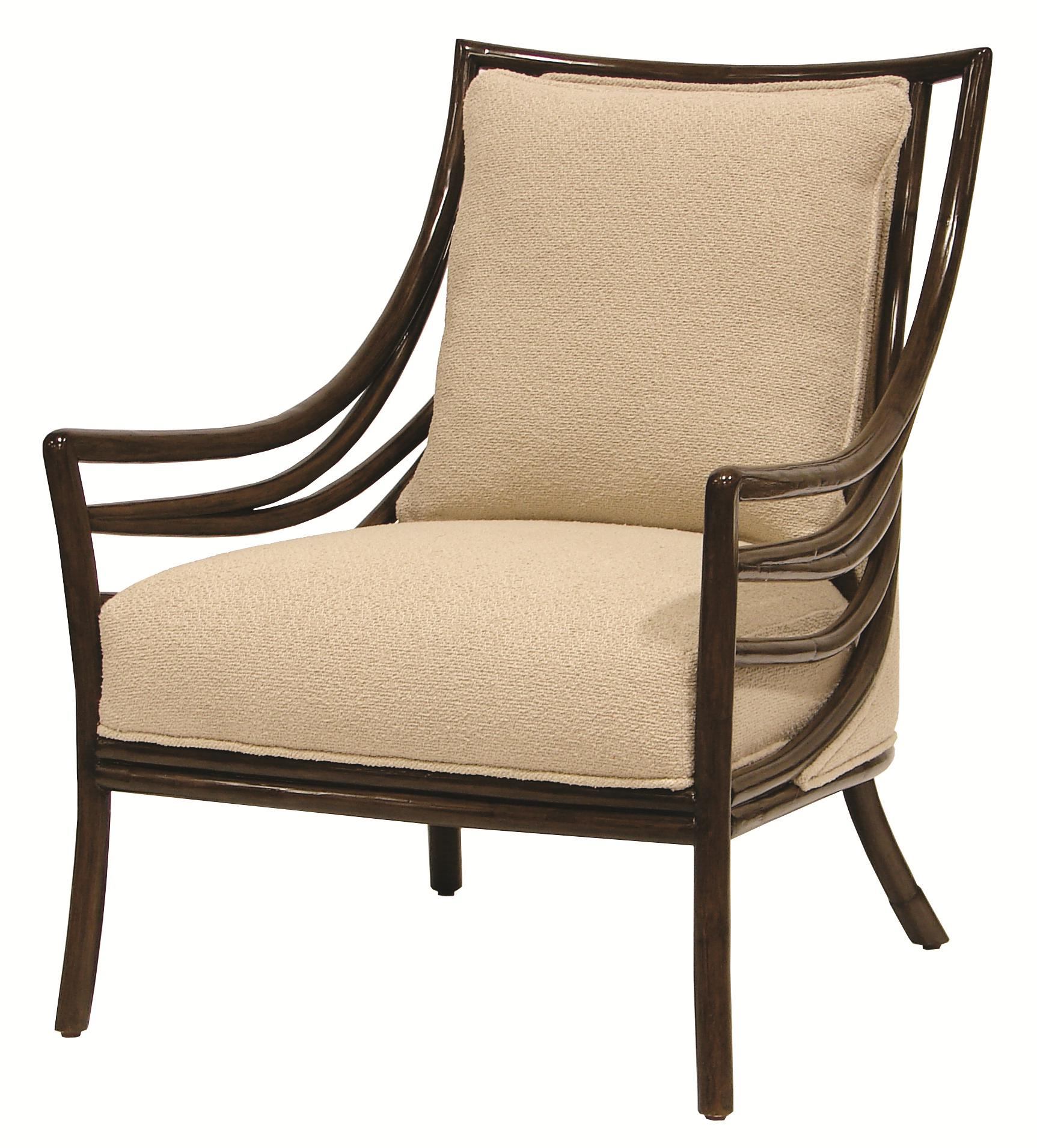 Accent Chairs by Palecek Crescent Lounge Chair by Palecek at Alison Craig Home Furnishings