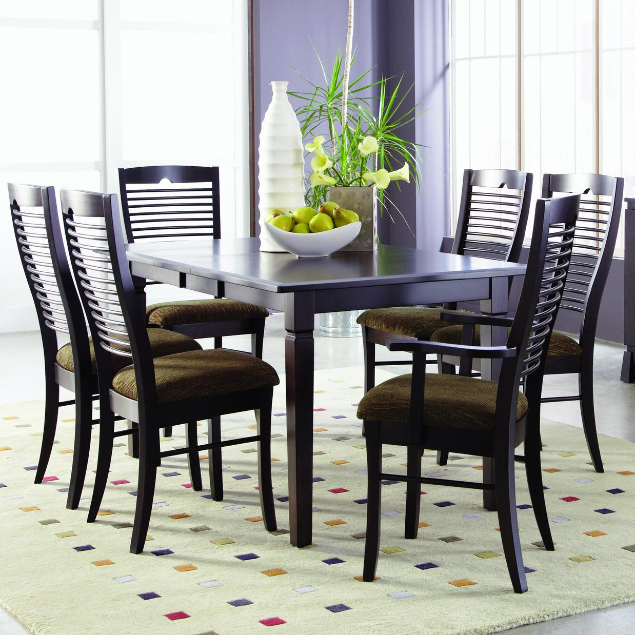Romeo Customizable 7 Pc. Table Set by Palettes at Virginia Furniture Market