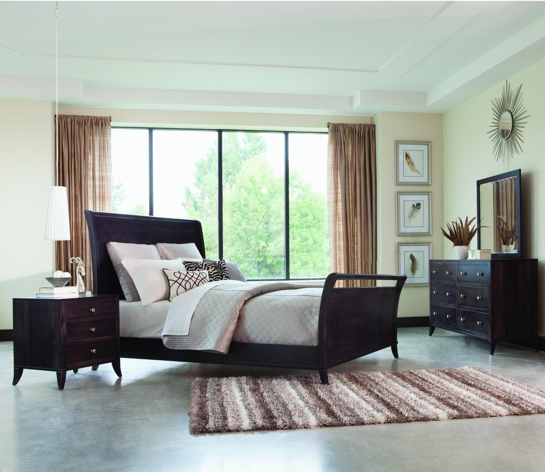 Adrienne PW King Bedroom Group  by Palettes at Virginia Furniture Market