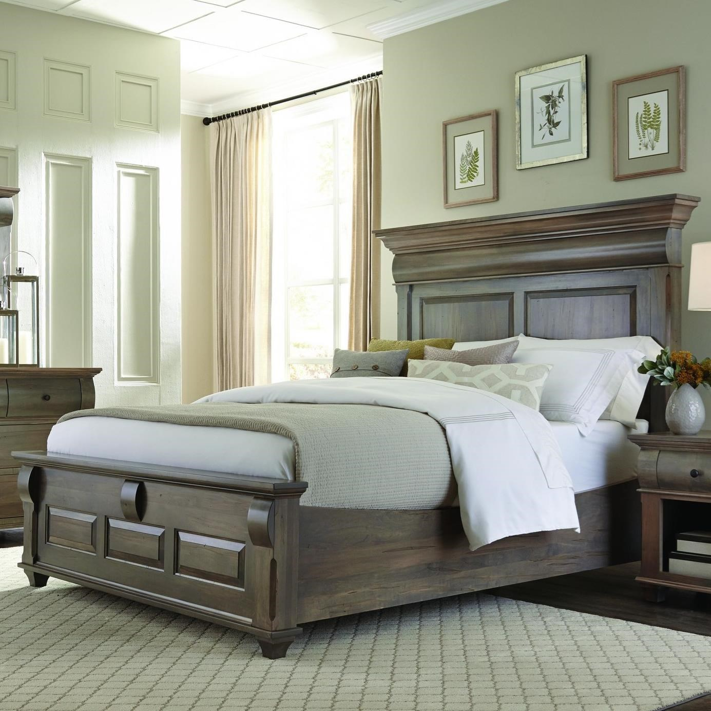 Bartletts Island King Panel Bed  by Palettes by Winesburg at SuperStore