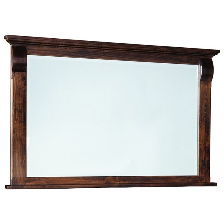 Bartletts Island Mirror by Palettes by Winesburg at Goods Furniture