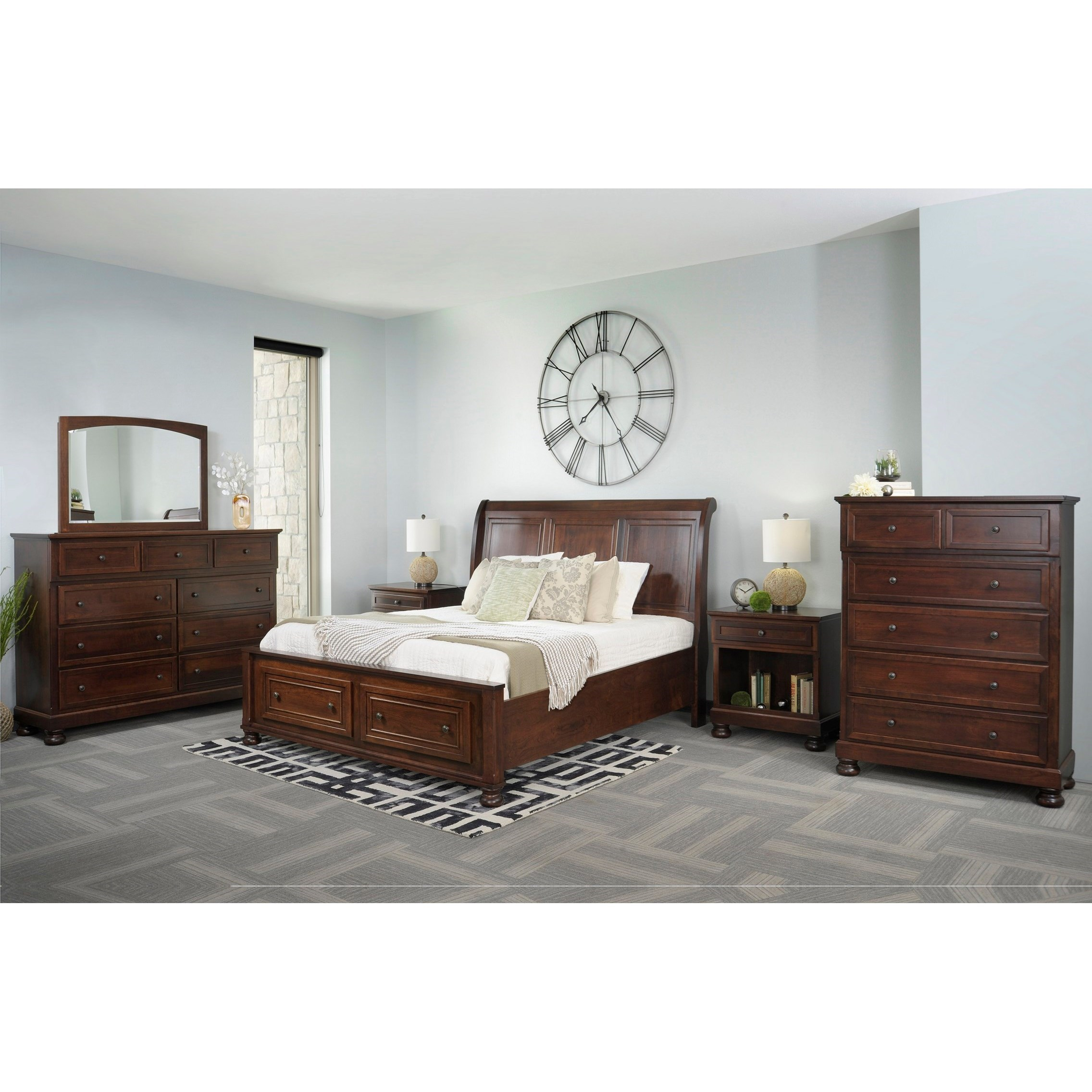 Brigantine Queen Bedroom Group by Palettes by Winesburg at Wayside Furniture