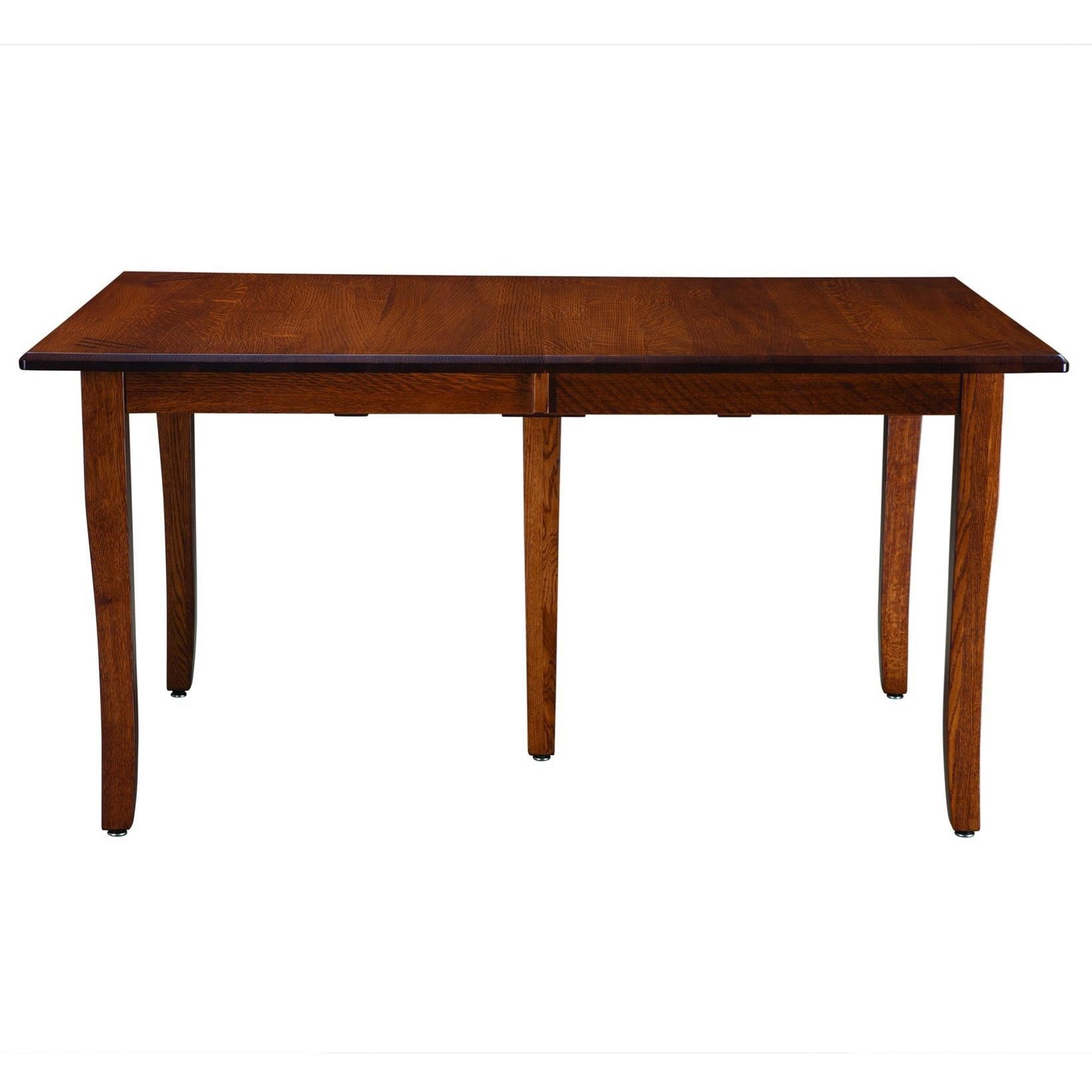 Classic Shaker Customizable Table by Palettes by Winesburg at Dinette Depot