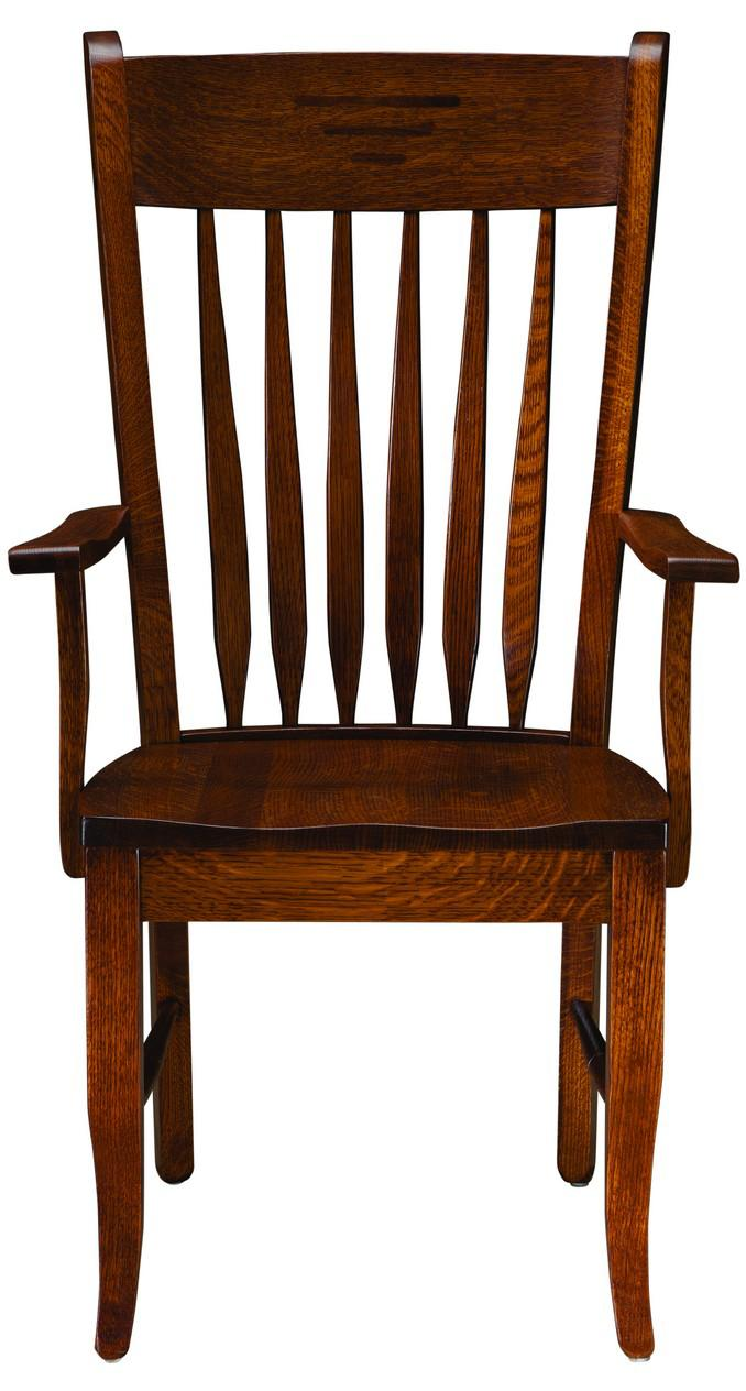 Classic Shaker Arm Chair by Palettes by Winesburg at Dinette Depot