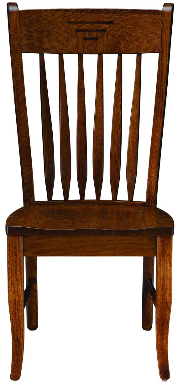 Classic Shaker Side Chair by Palettes by Winesburg at Dinette Depot