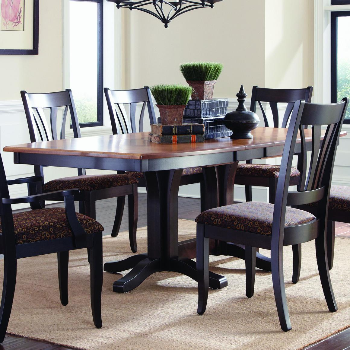 Hartford  Customizable Table by Palettes by Winesburg at Dinette Depot