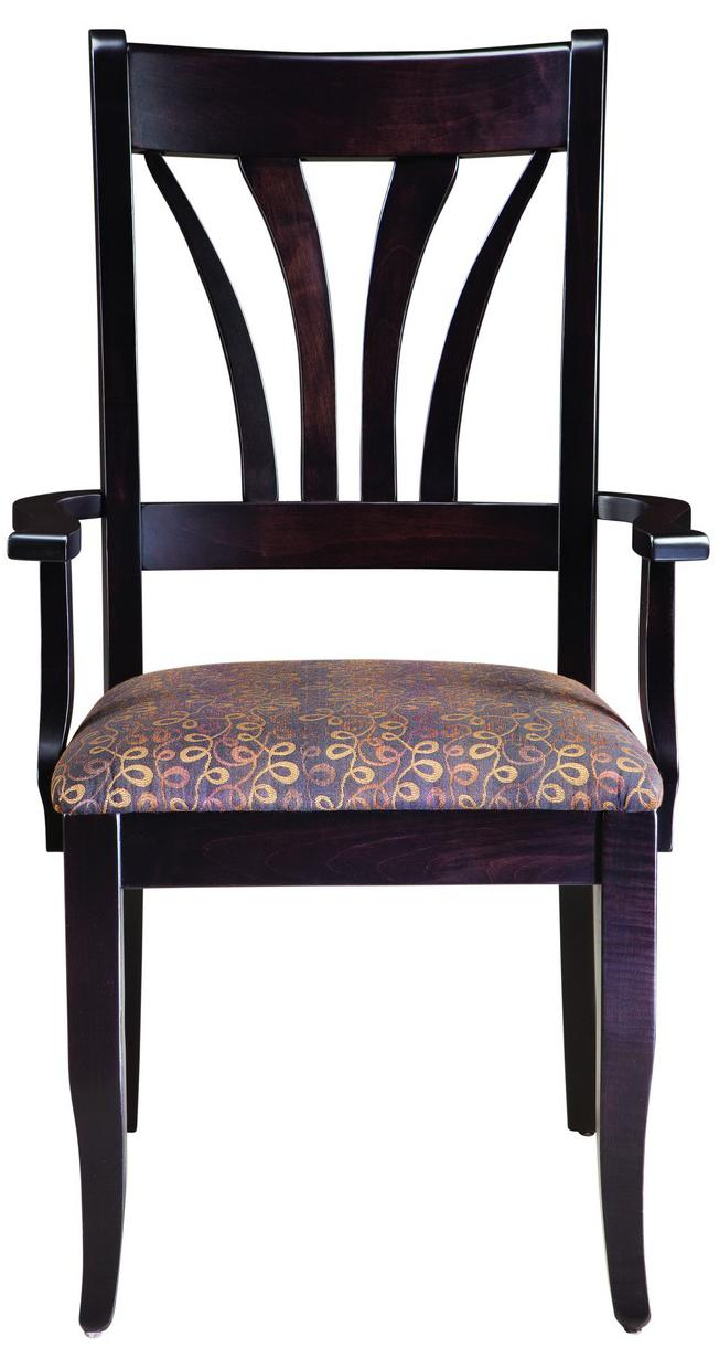 Hartford  Customizable Arm Chair by Palettes by Winesburg at Dinette Depot