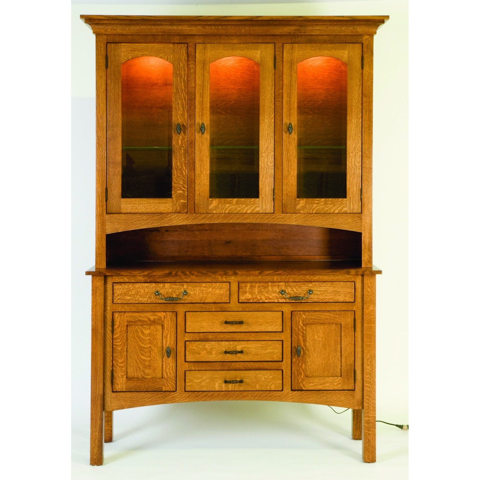 Highland Customizable Dining Buffet and Hutch by Palettes by Winesburg at Novello Home Furnishings