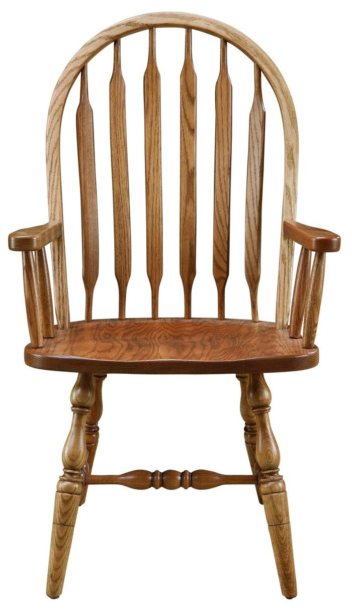Jr. Bowback Group Customizable Arm Chair by Palettes by Winesburg at Dinette Depot