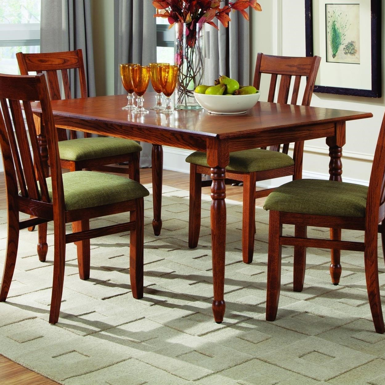 """Lifestyles Lite Dining 36"""" x 58"""" Table - Laminate Top by Palettes by Winesburg at Dinette Depot"""