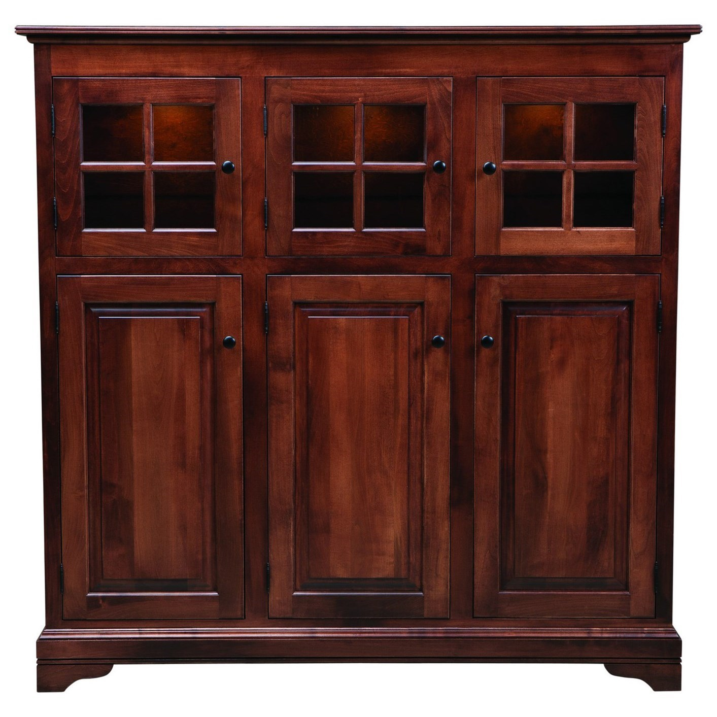 New England Door Cabinet by Palettes by Winesburg at Dinette Depot