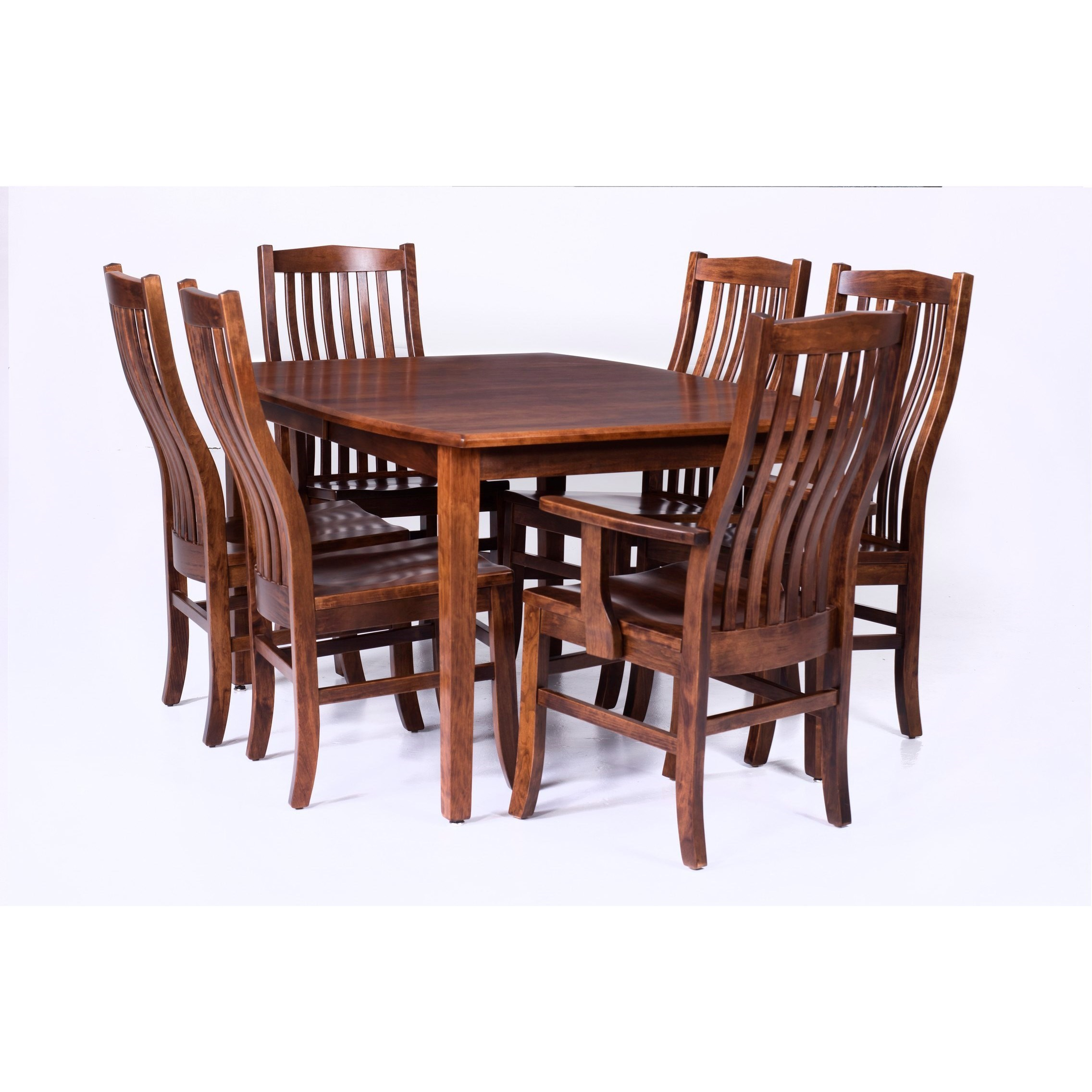 Prestige  Customizable 7 Piece Table Set by Palettes by Winesburg at Dinette Depot