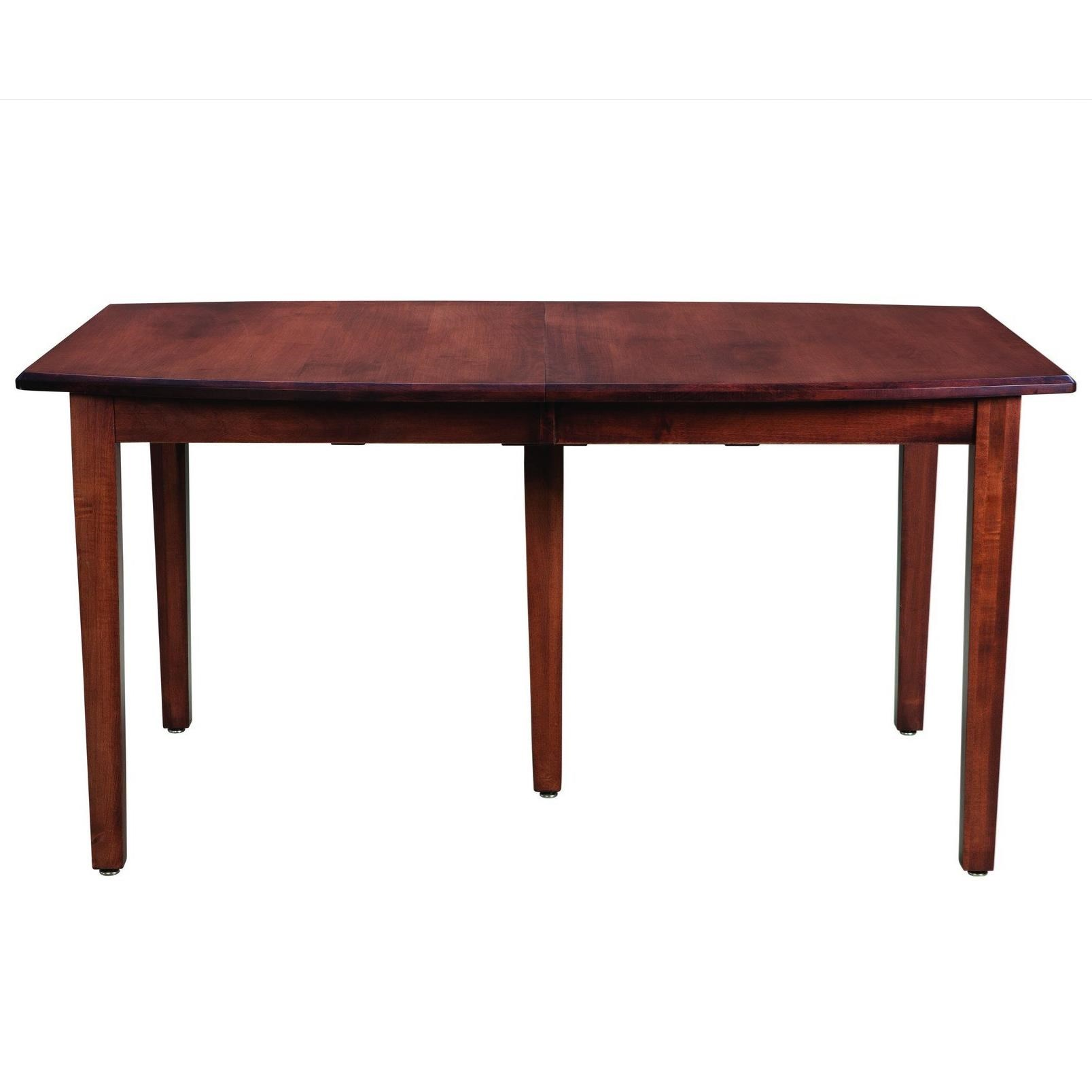 Prestige  Customizable Boat Shaped Table by Palettes by Winesburg at Dinette Depot