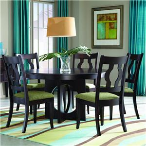 Palettes by Winesburg Single Metro Customizable 5 Pc. Table Set