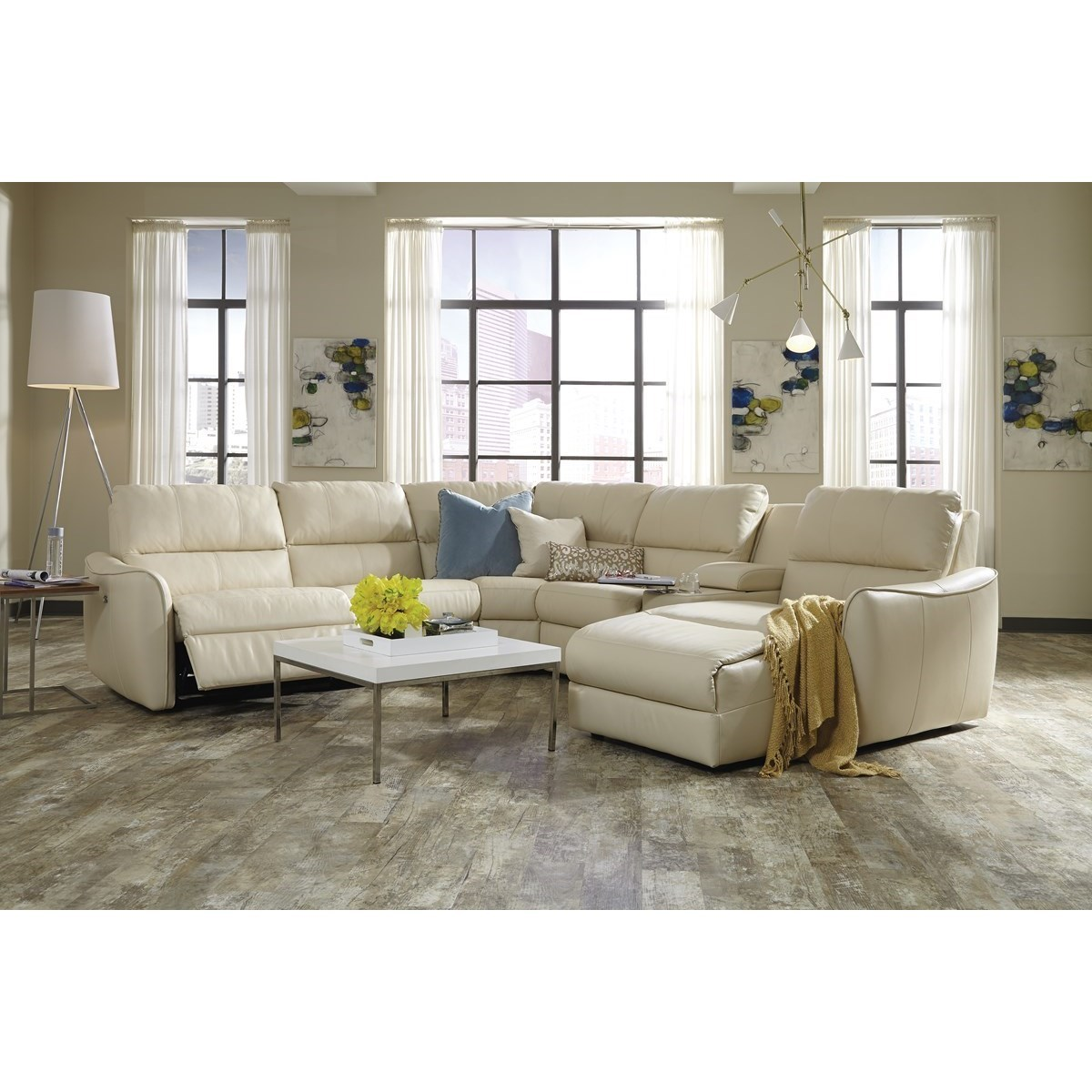Arlo Sectional Sofa by Palliser at Corner Furniture