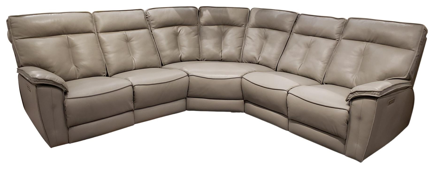 41187 41187 5pc. Sectional by Palliser at Upper Room Home Furnishings