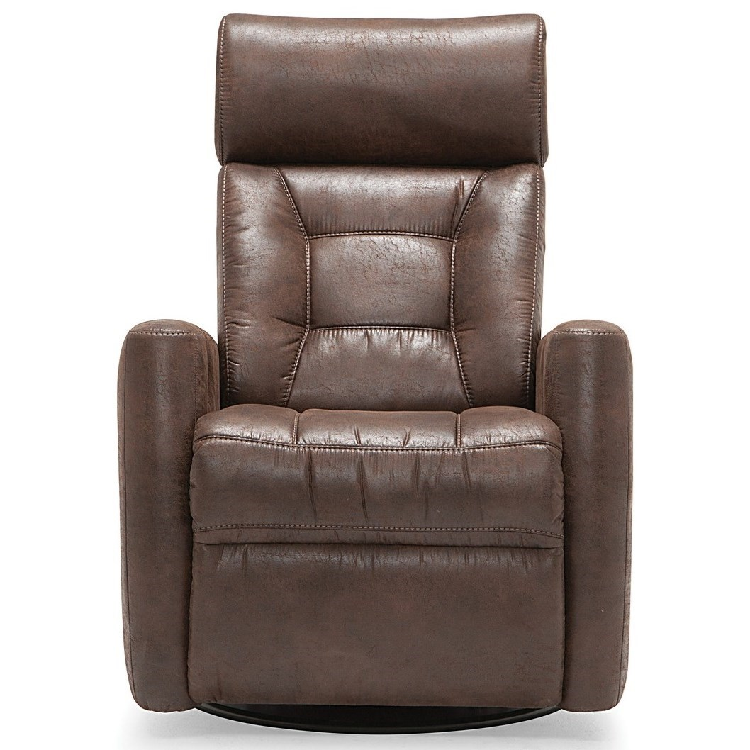 Baltic Power Swivel Gliding Recliner by Palliser at Belfort Furniture