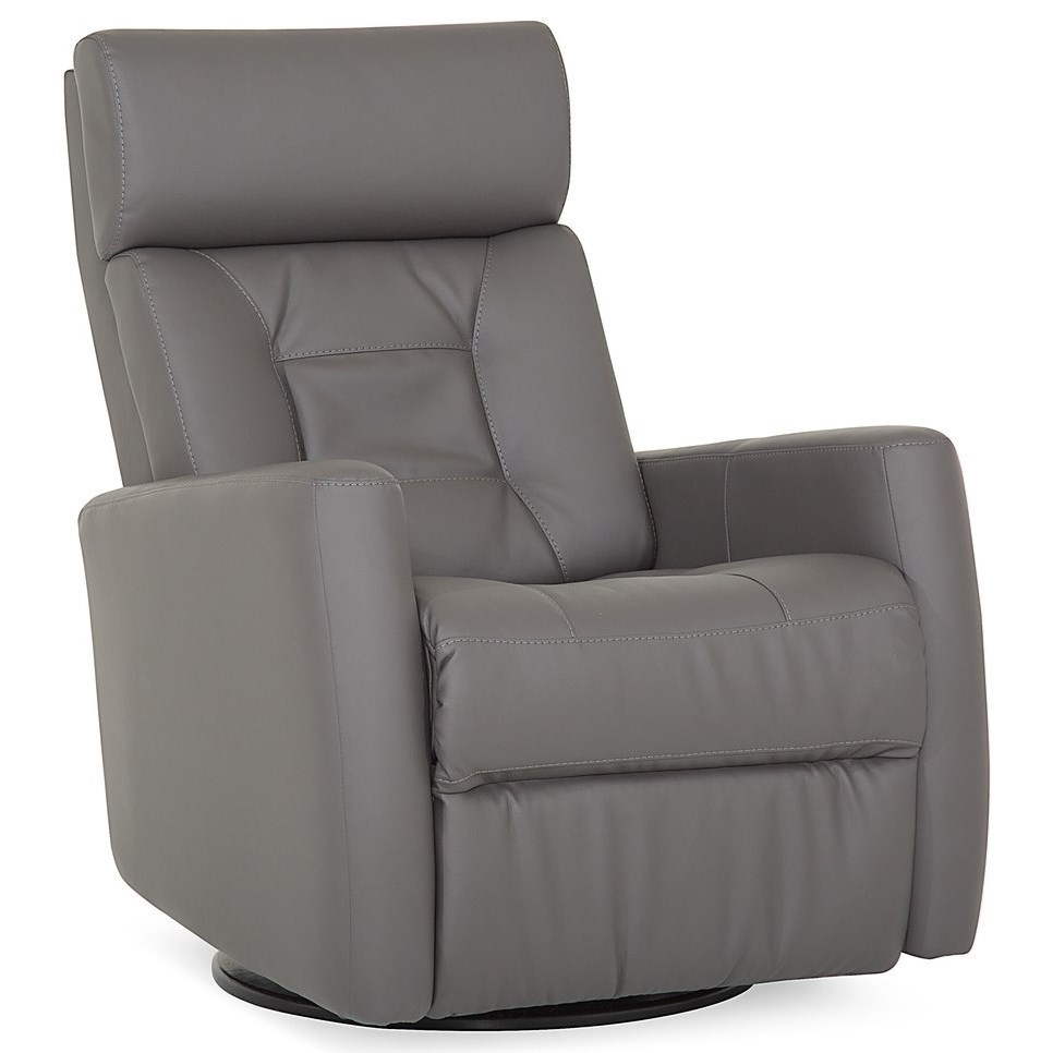 Baltic II Power Swivel Gliding Recliner by Palliser at Prime Brothers Furniture