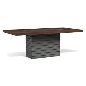Boulevard Ped Rect Dng Table