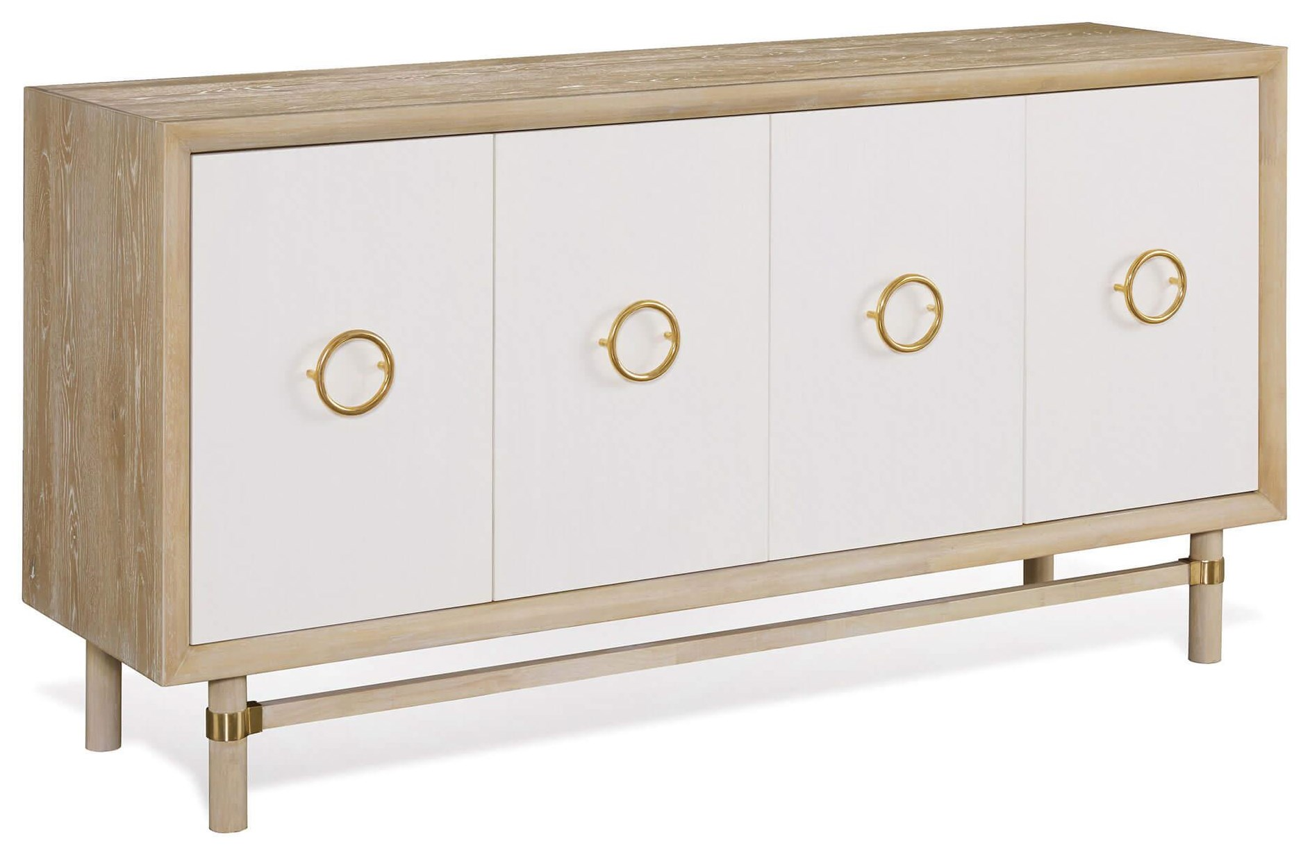 Sarah Richardson Shore 4 Dr Credenza - Shore by Palliser at Stoney Creek Furniture