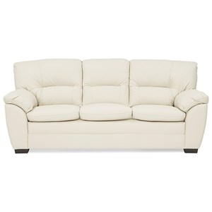 Casual Sofa with Pillow Arms