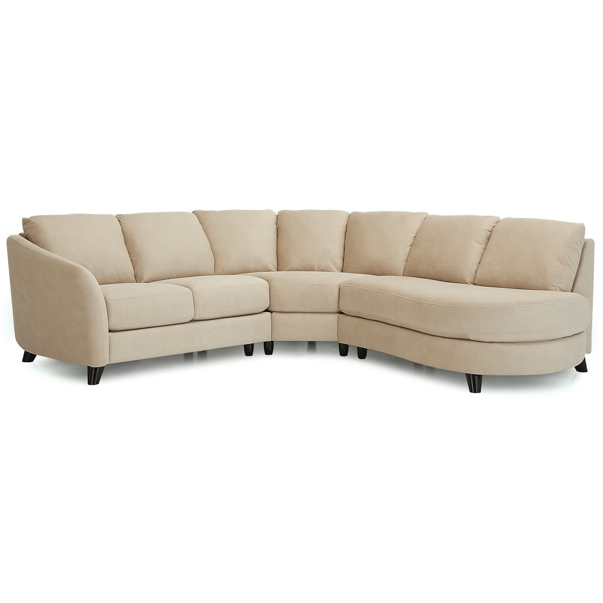 Alula Sectional Sofa by Palliser at Novello Home Furnishings