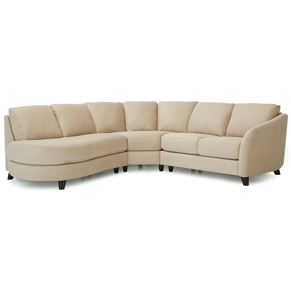 Alula Sectional Sofa by Palliser at Jordan's Home Furnishings