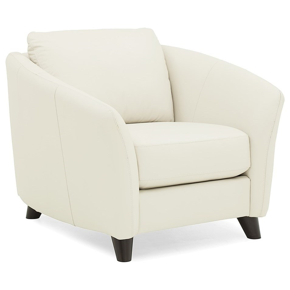 Alula Upholstered Chair by Palliser at Jordan's Home Furnishings