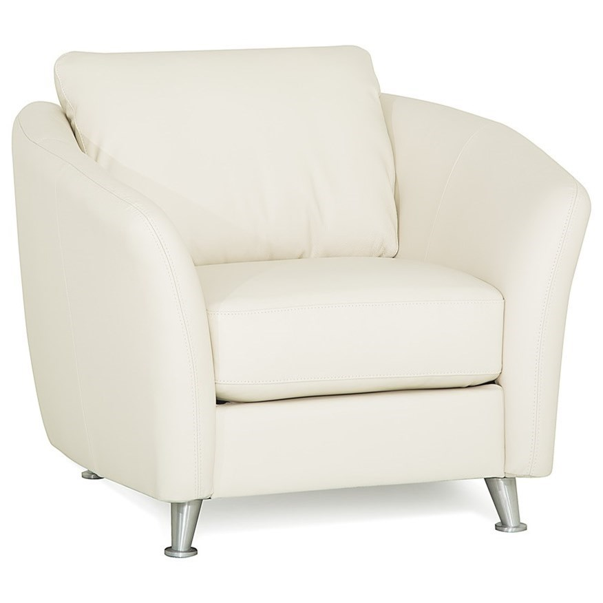 Lana Leather Chair by Rockwood at Bennett's Furniture and Mattresses