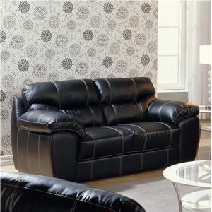 Palliser Ariane Leather Loveseat
