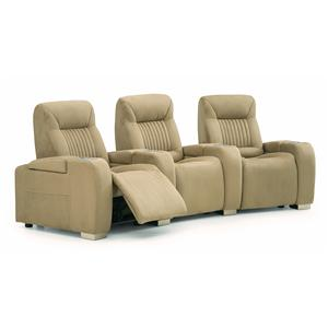 Palliser Autobahn Manual 3 pc. Theather Seating