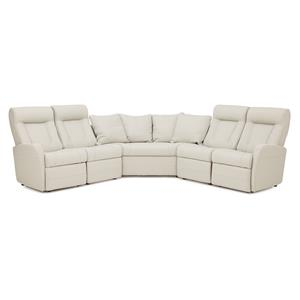 Contemporary Reclining Sectional Sofa