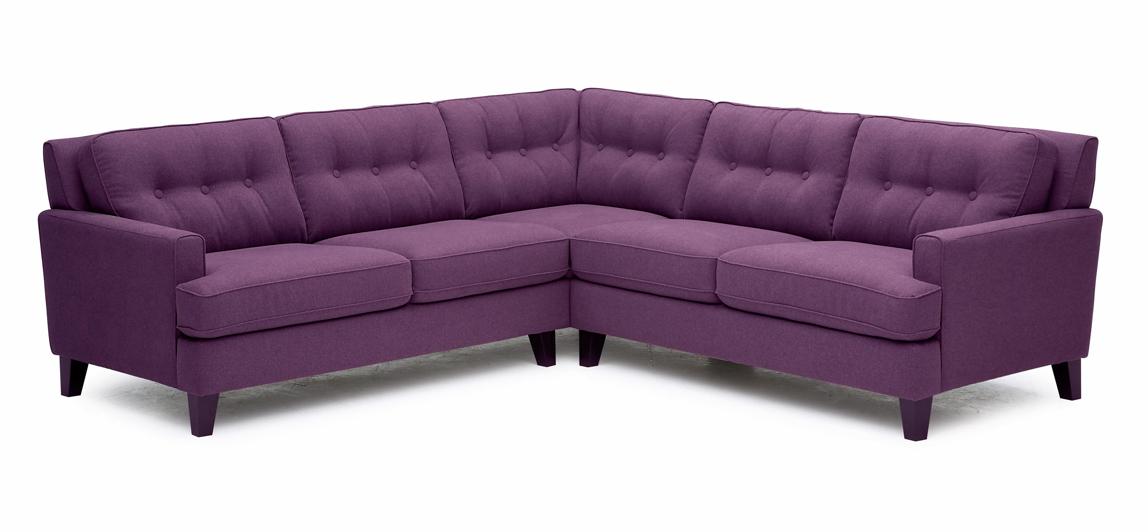 Barbara Two Piece Sectional Sofa with LHF Loveseat by Palliser at SuperStore
