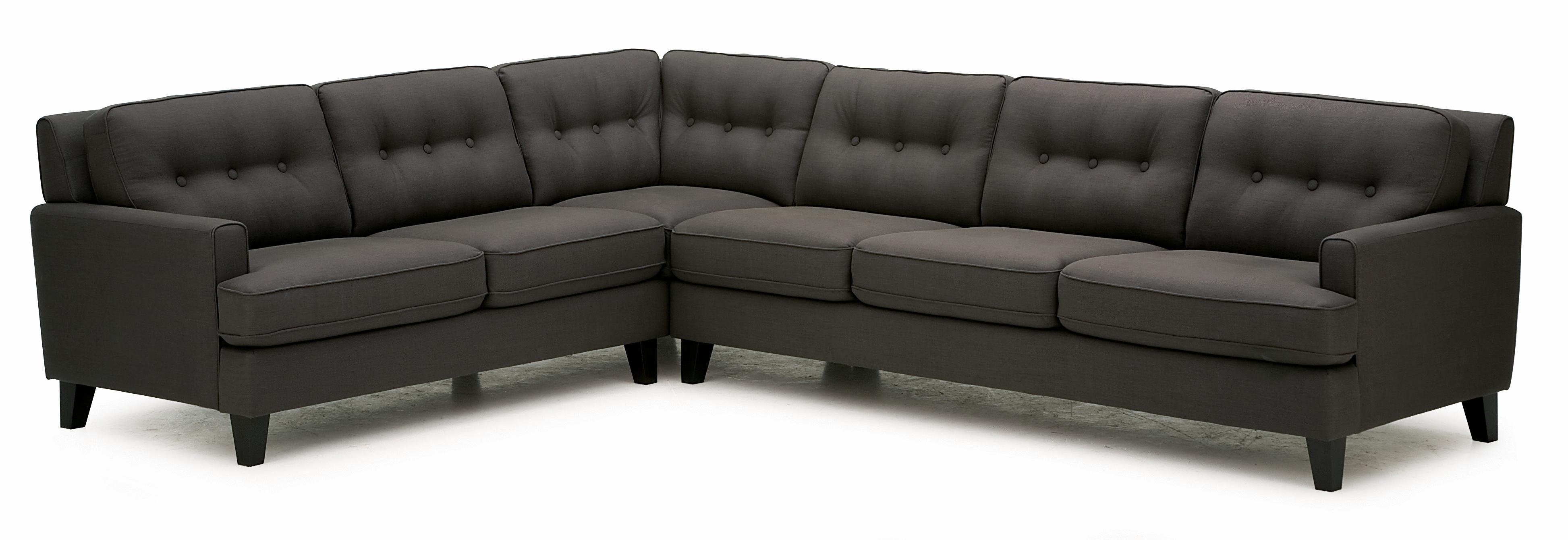 Barbara Two Piece Sectional Sofa with RHF Sofa Split by Palliser at Jordan's Home Furnishings