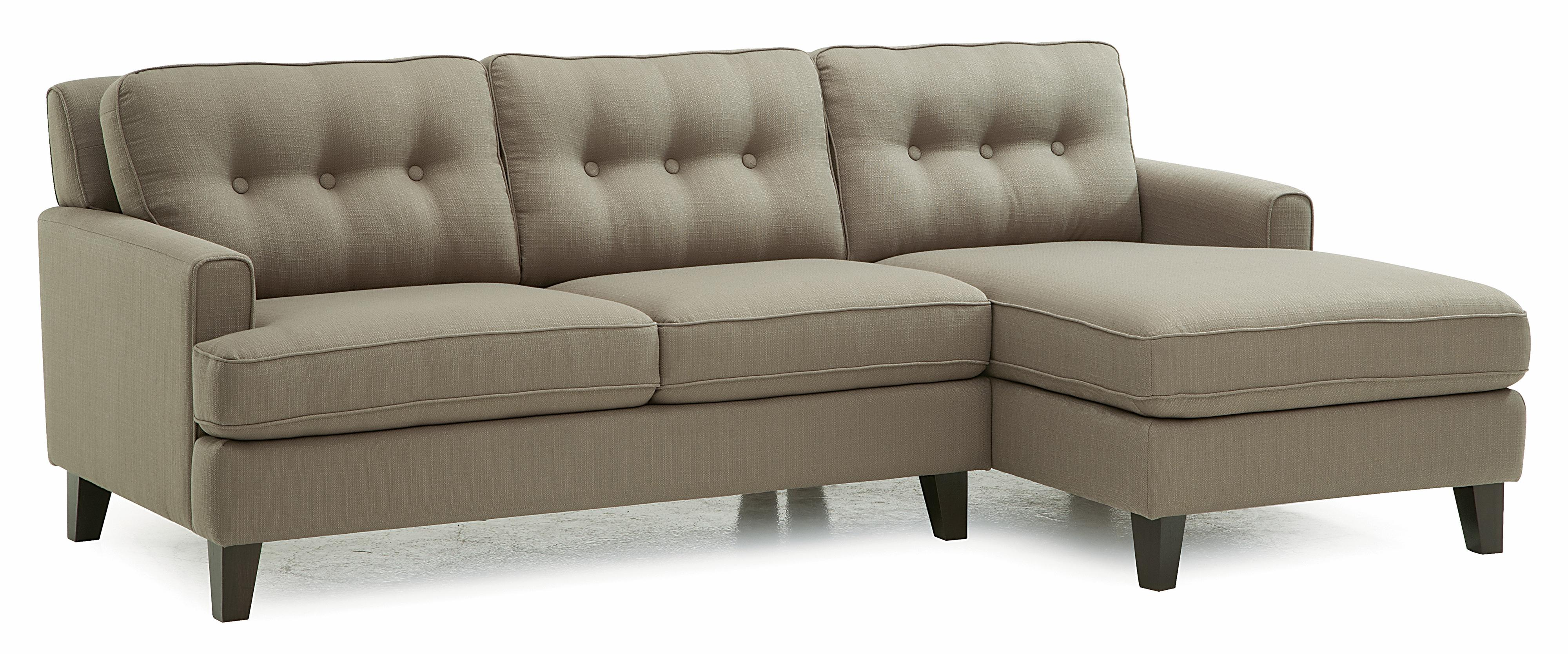 Barbara Two Piece Sectional Sofa with RHF Chaise by Palliser at Jordan's Home Furnishings