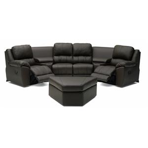 Two Chair Reclining Sectional