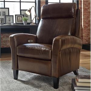 Power High Leg Recliner with USB Charging Port