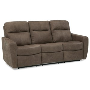 Contemporary Manual Reclining Sofa