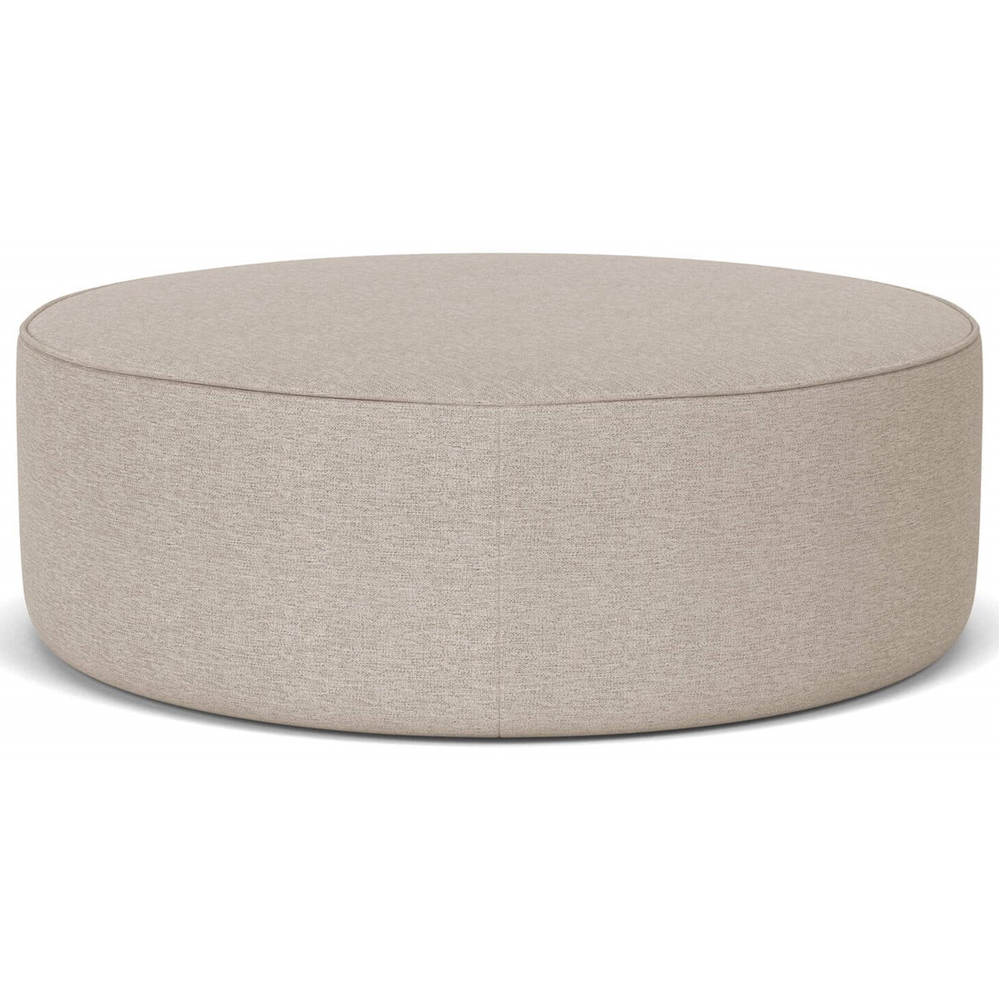 Courtyard Round Cocktail Ottoman  by Palliser at Furniture and ApplianceMart