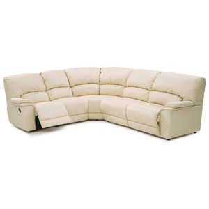 Casual 5-Piece Reclining Sectional