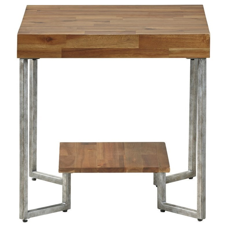 Dawson End Table by Palliser at Jordan's Home Furnishings