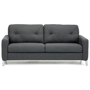 Modern Sofa with Tufts on Seat Back
