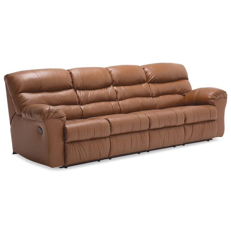 Durant 4-Piece Power Reclining Sectional by Palliser at Furniture and ApplianceMart