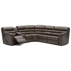 Power Reclining Sofabed Sectional