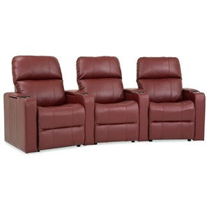 Three Seat Curved Power Reclining Sectional