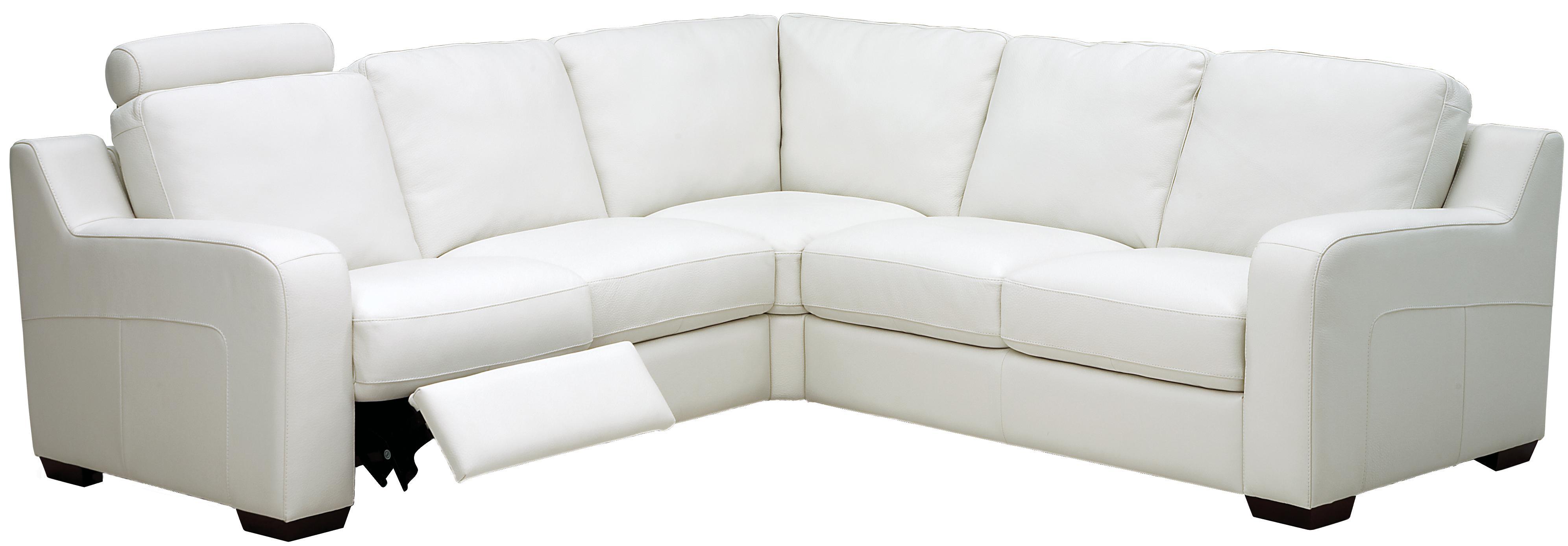 Flex Reclining Sectional Sofa by Palliser at Jordan's Home Furnishings