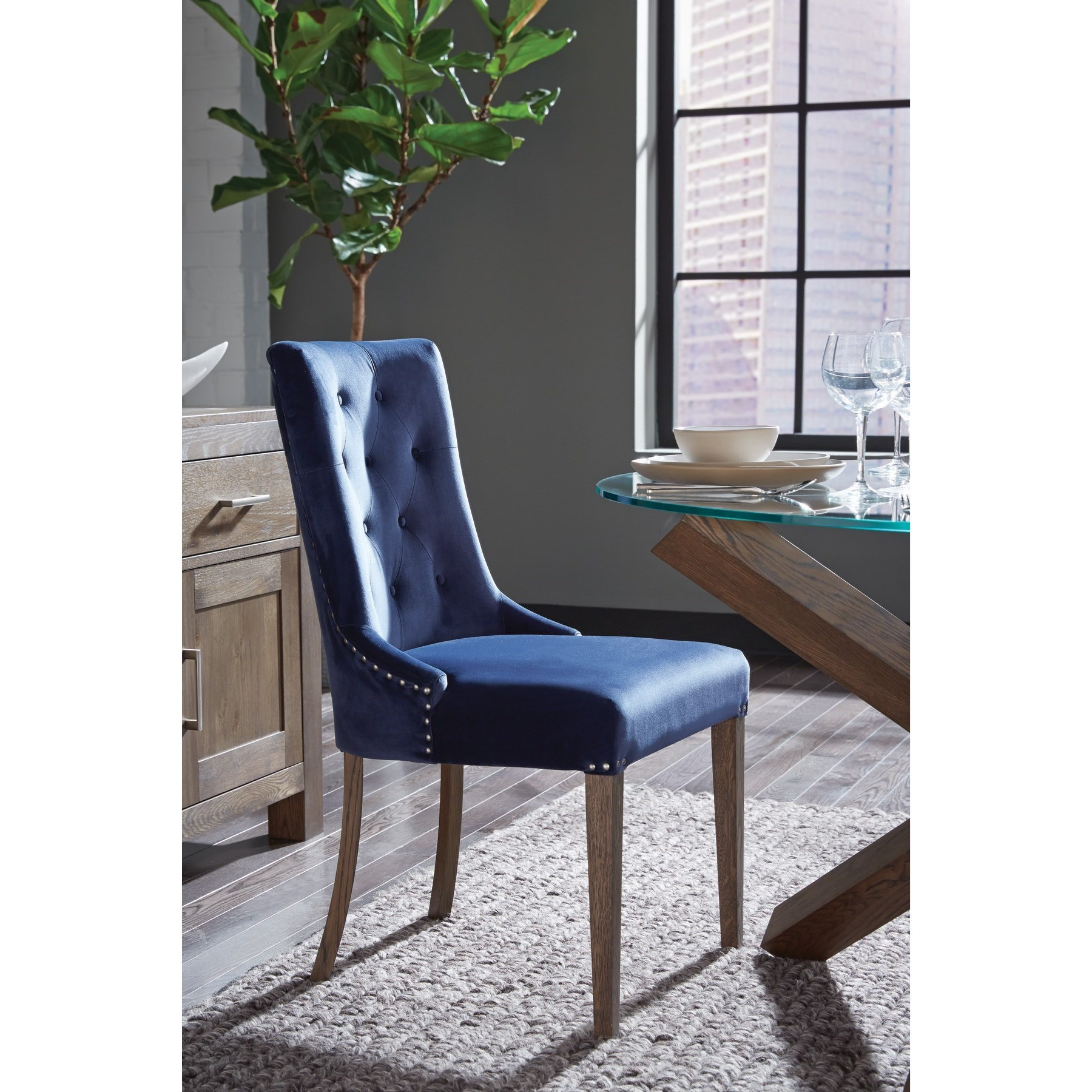 Gardiner-Saylor Side Chair by Palliser at Upper Room Home Furnishings
